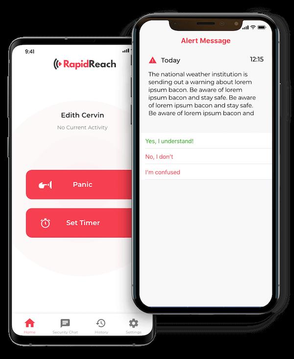 Notfall-Benachrichtigungs-App